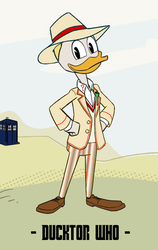 Ducktor Who - 5th Ducktor by JStCPatrick