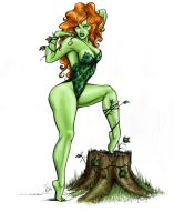 Poison Ivy colors by Carliihde
