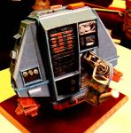maintenance drone 1 (huey from silent running) by amoebabloke