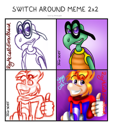 Switch around meme with RayMcCall-ErronBlack by Tee3015