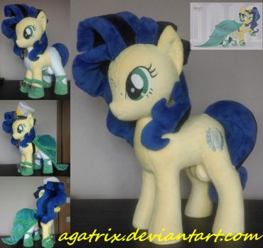 Milky Way plush by agatrix