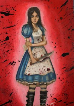 Alice in Madness by Jangsara
