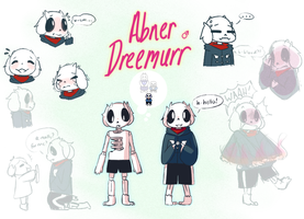 [UT Next Gen] Abner Reference Sheet by DrawWINGs