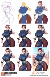 Step by step chunli by bokuman