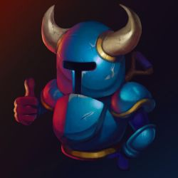 Shovel knight by werur