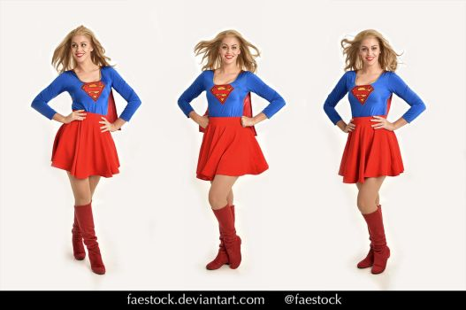 Supergirl  - Stock model reference pack 31 by faestock