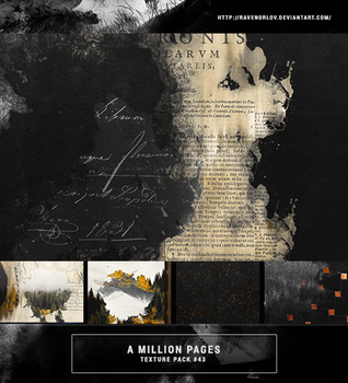 Texture Pack #43 - A Million Pages by RavenOrlov