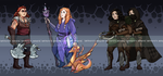 DnD - Lady dwarves Auction [CLOSED] by Tahikoro