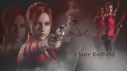 Resident Evil 2 Remake Claire Redfield Wallpaper 3 by xGamergreaserx