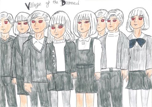 Village of the Damned (1995 version) by IrmitXD