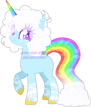 [CLOSED] Normal Rainbow Unicorn Adopt by Gaster-Story