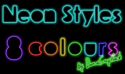 Neon Styles by DonaGreyback