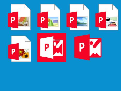 Picture Manager 2013 icons by samu2000