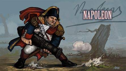 Super History Brawl: Time Warrior - Napoleon by Kwad-rat
