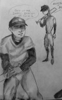 The Batter Sketch 2 by CarrilRego