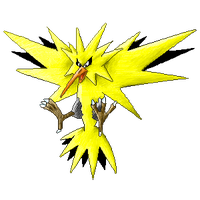 Zapdos colour