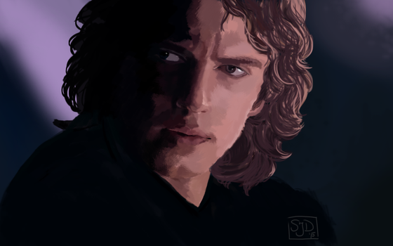 Anakin Skywalker II by kisusie