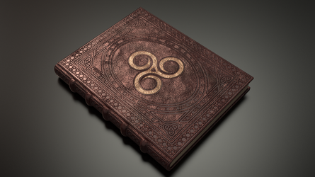Spell Book - Livre de sort - TES (texture work) by Etrelley