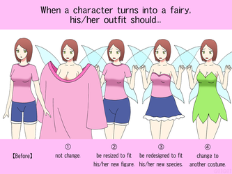 Poll: Outfit Change of Fairy TF by gomyugomyu