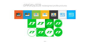 dAKirby309 New Profile Picture Redesigns by TheTechnoToast