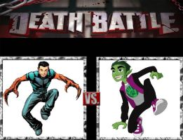 Request #130 Reptil vs Beast Boy by LukeAlanBundesen