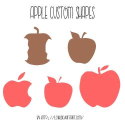 Apple CustomShapes by LcyHi