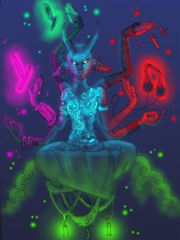 Rave God by Zteif