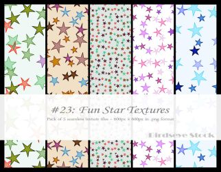 Fun Star Textures by BirdseyeStock