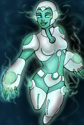 Green lantern animated series AYA by rusting-angel