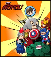 The Avengers by LazySensei