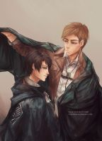SnK: I'll be your Right hand. by Fiveonthe
