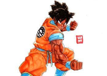 Goku If he Was Black! by WhytManga