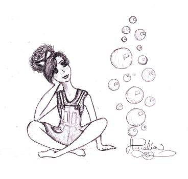 Bubbles by BlackThorn-Angel