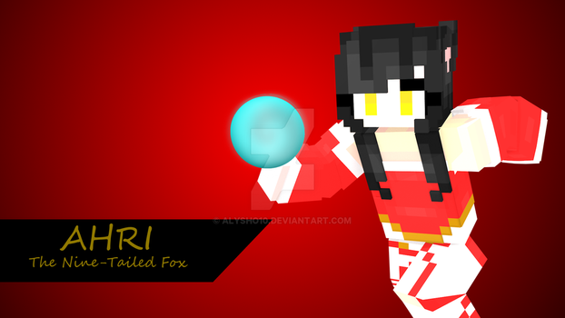 Ahri [Minecraft Skin] by alysho10