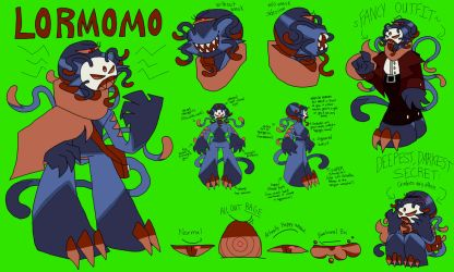 Lormomo NEW reference by Madcupotea