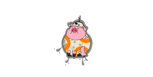 BB-8 Waddles (Updated) by Bordercollie15