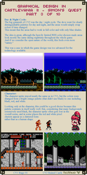 Graphical Design in Castlevania 2 - Part 3 of 10 by Cyangmou