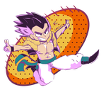 Gotenks - Dynamite Kick by 4zumarill