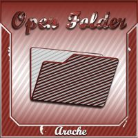 Stripes 'Open Folder' by aroche