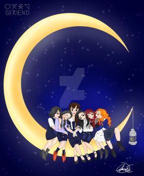 Gfriend- Time for the Moon Night by Pioko6642