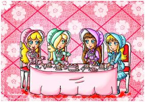 Lolitas tea party by ninpeachlover