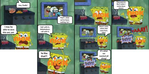 Nickelodeon Reviving its Classics in a Nutshell by TheRandomDevianter2