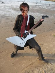 Serg with guitar II by natalie-stock