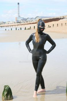 Latex Model on the Beach by LatexModel