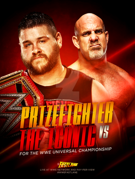 WWE FastLane: Prizefighter vs The Iconic (concept) by JaggedGFX