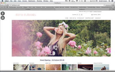 Foto Flavors Shop - Photoshop Actions for Sale by Zaratops