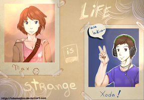 life is strange con Xoda by LobaMagica