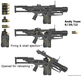 Grenade Launcher by c-force