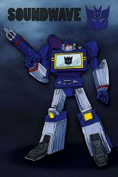Soundwave G1 by crackwalker