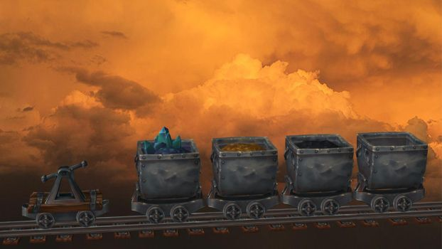 Mine Cart Collection for XPS by Aequitas-Imperator